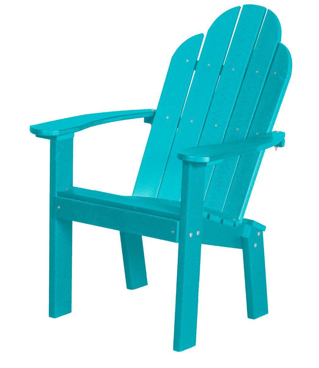 Aruba Blue Odessa Outdoor Dining Chair