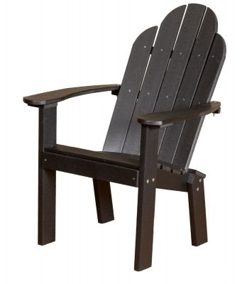 Black Odessa Outdoor Dining Chair