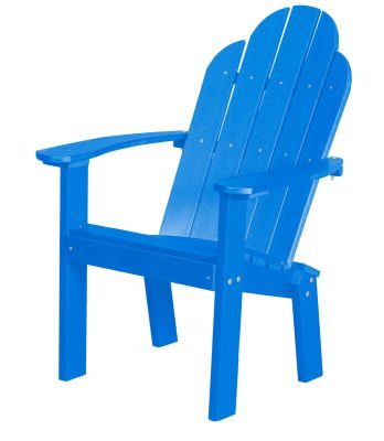 Blue Odessa Outdoor Dining Chair