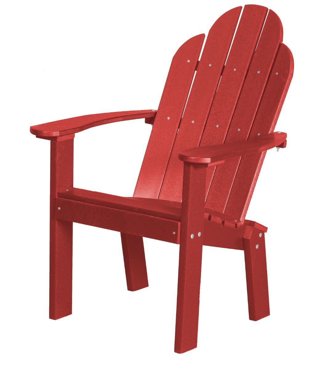 Cardinal Red Odessa Outdoor Dining Chair