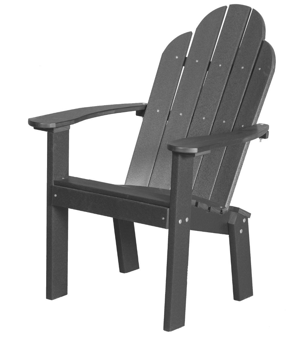 Dark Gray Odessa Outdoor Dining Chair