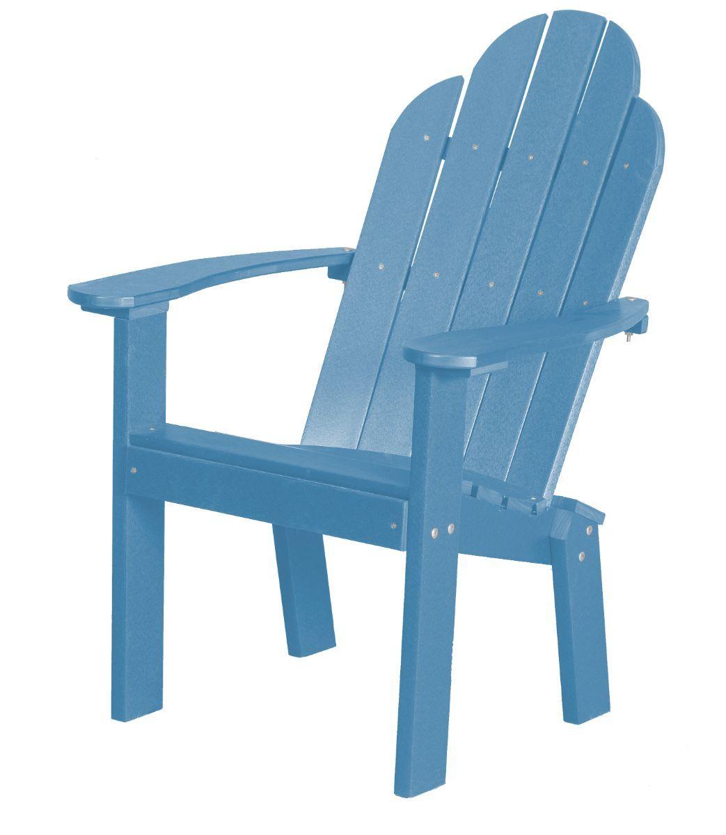 Powder Blue Odessa Outdoor Dining Chair