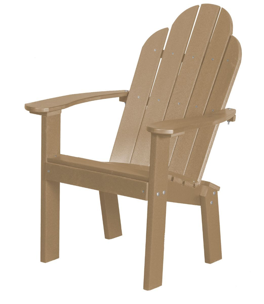Weathered Wood Odessa Outdoor Dining Chair