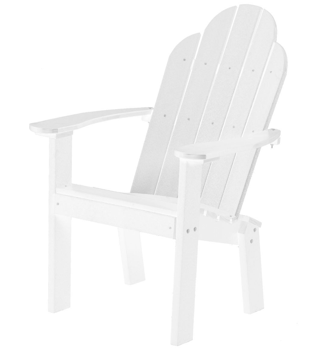 White Odessa Outdoor Dining Chair