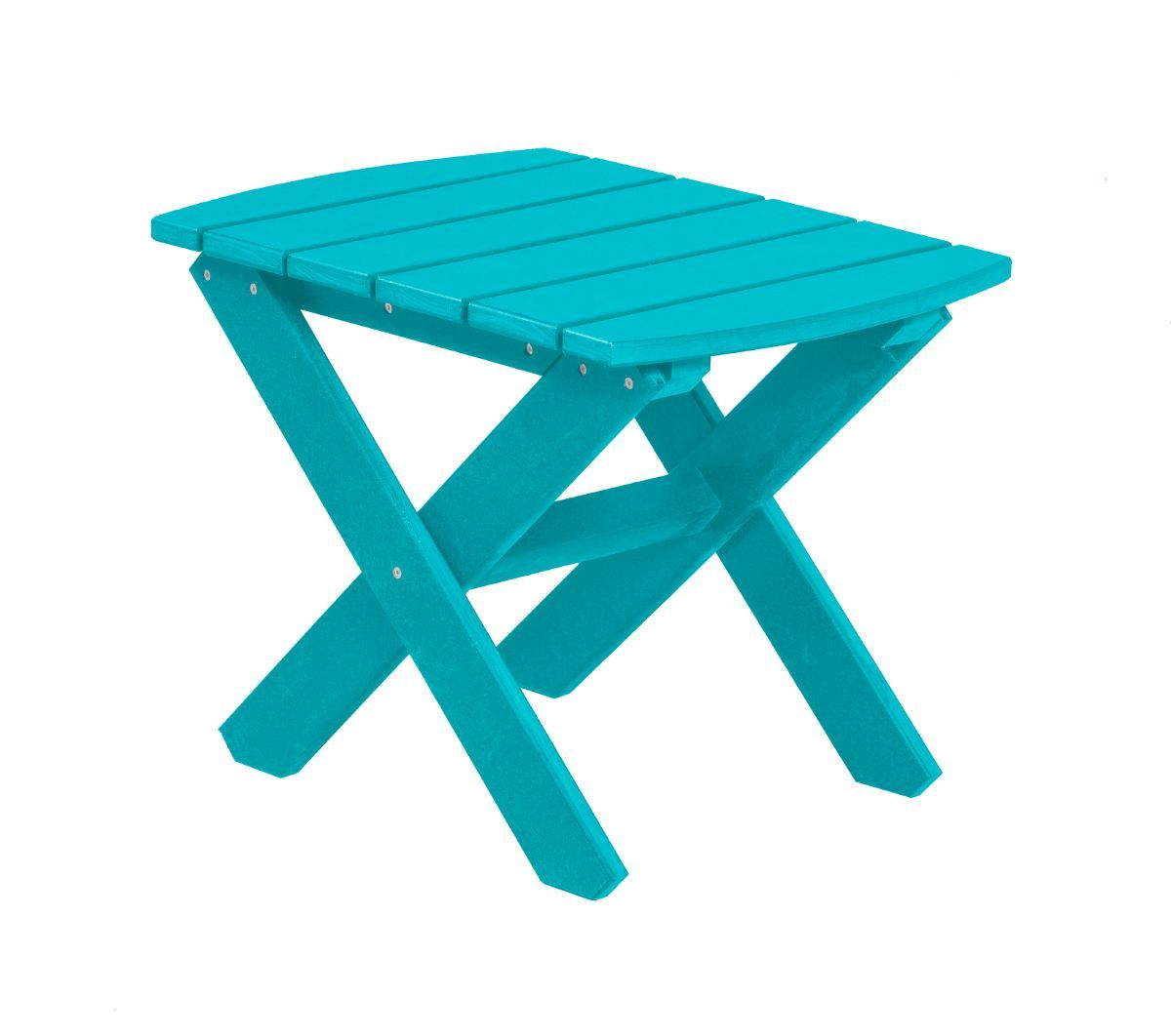 Aruba Blue Odessa Outdoor End Table