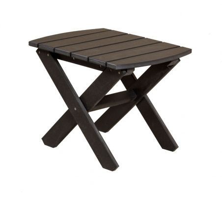 Black Odessa Outdoor End Table
