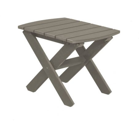 Light Gray Odessa Outdoor End Table