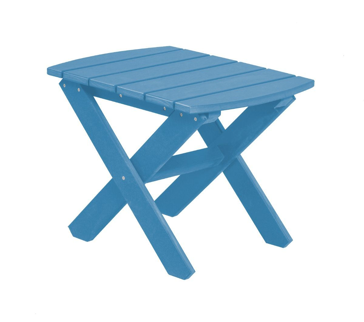 Powder Blue Odessa Outdoor End Table