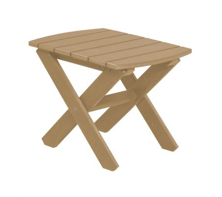 Weathered Wood Odessa Outdoor End Table