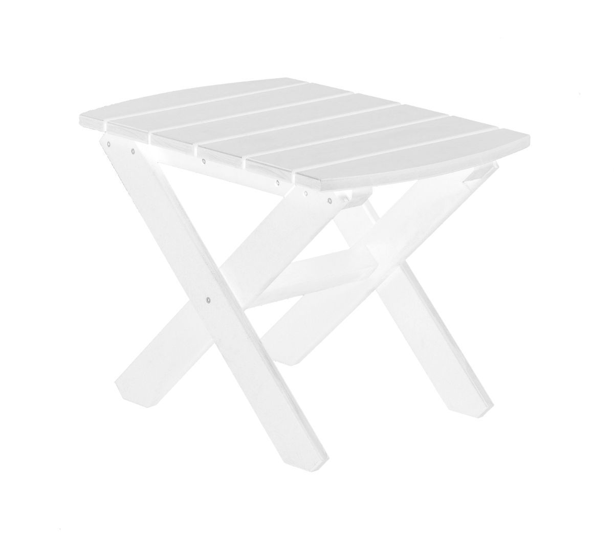 White Odessa Outdoor End Table