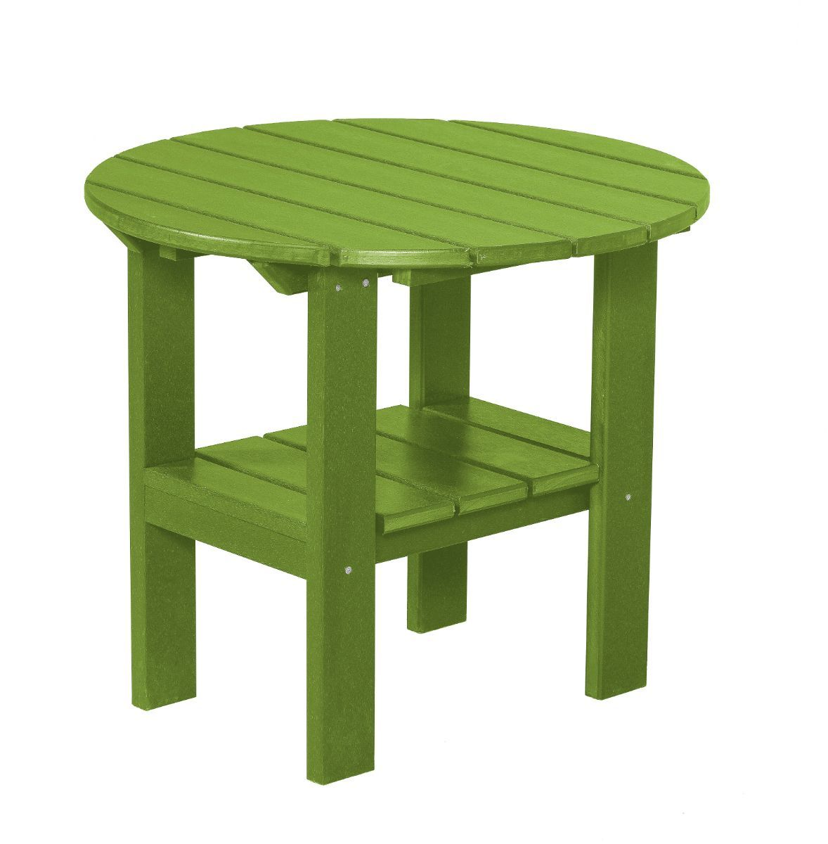 Lime Green Odessa Round Outdoor Side Table