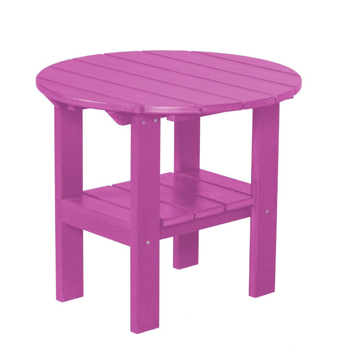 Purple Odessa Round Outdoor Side Table