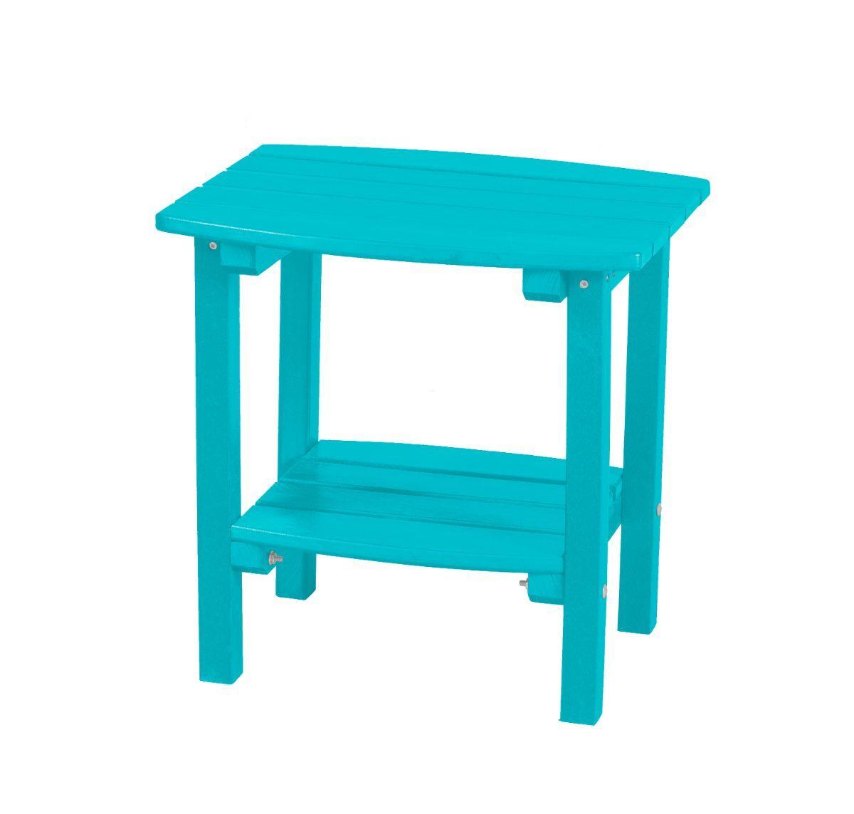 Aruba Blue Odessa Small Outdoor Side Table
