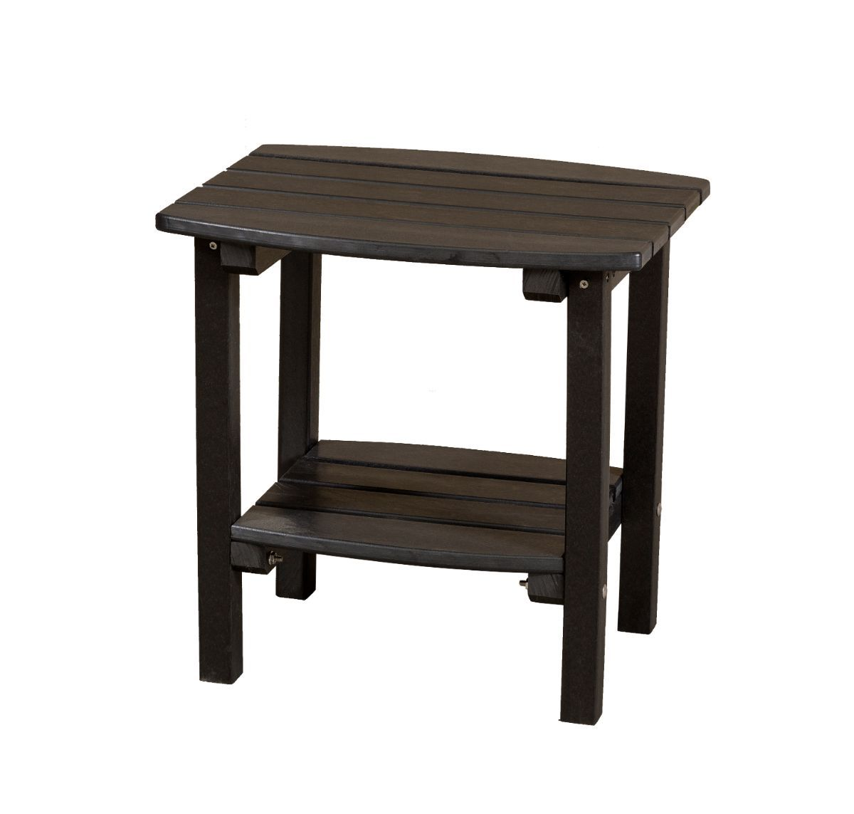 Black Odessa Small Outdoor Side Table