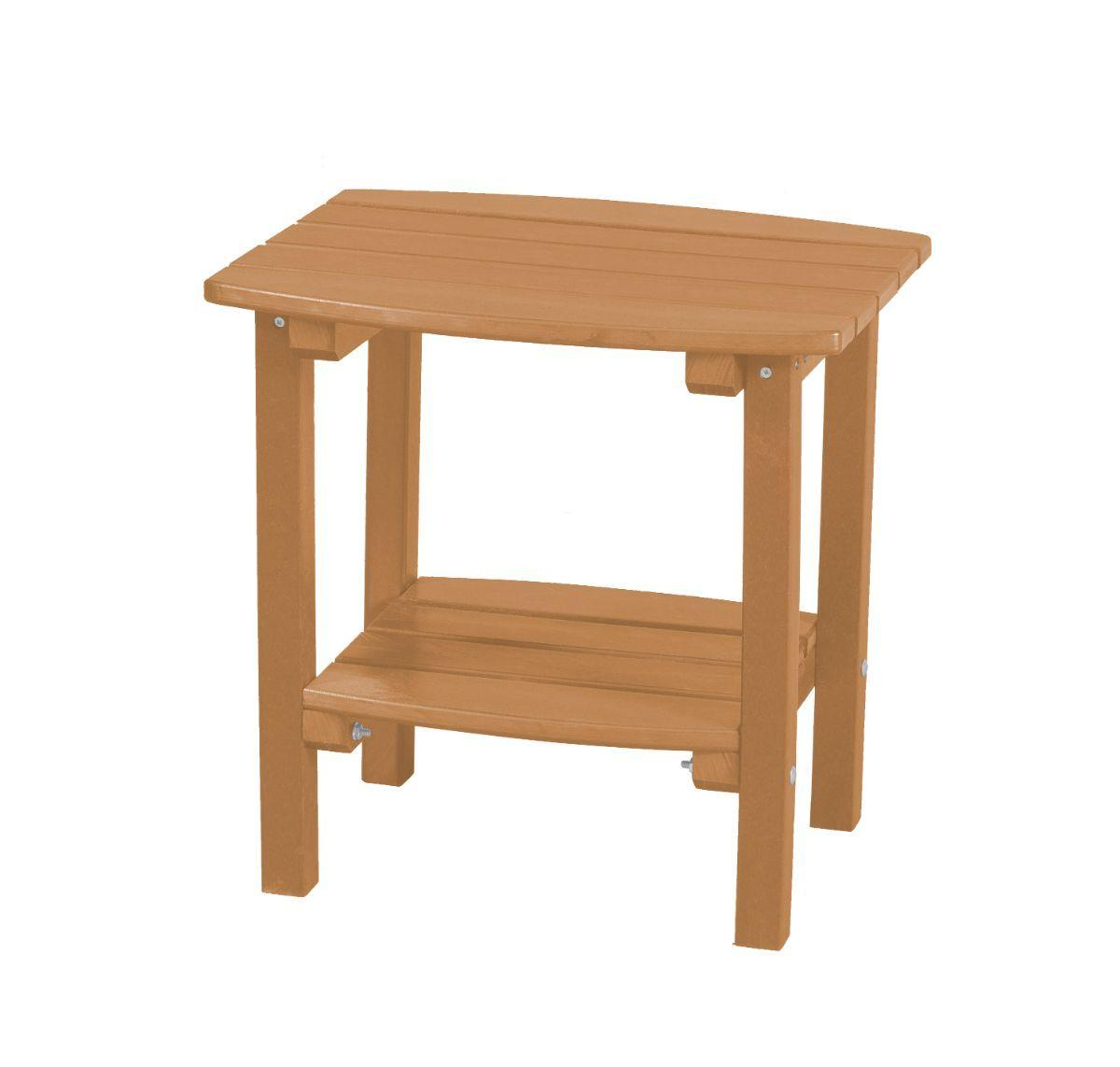 Cedar Odessa Small Outdoor Side Table`
