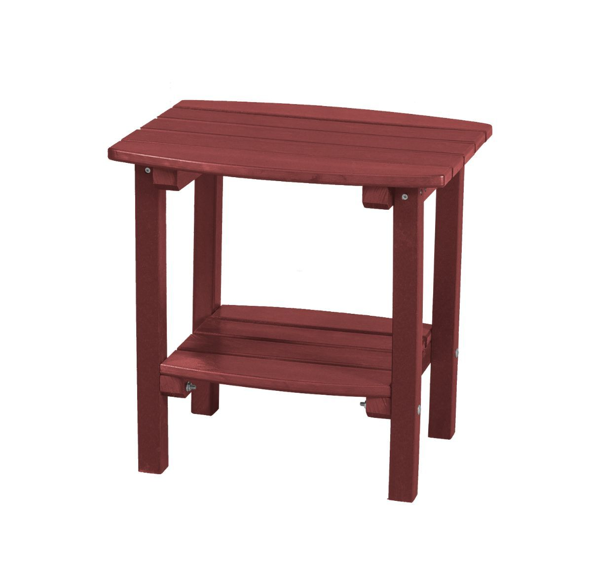 Cherry Wood Odessa Small Outdoor Side Table