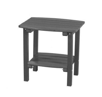 Dark Gray Odessa Small Outdoor Side Table
