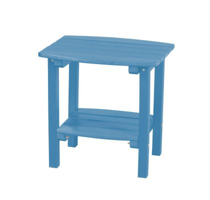 Powder Blue Odessa Small Outdoor Side Table