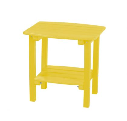 Lemon Yellow Odessa Small Outdoor Side Table