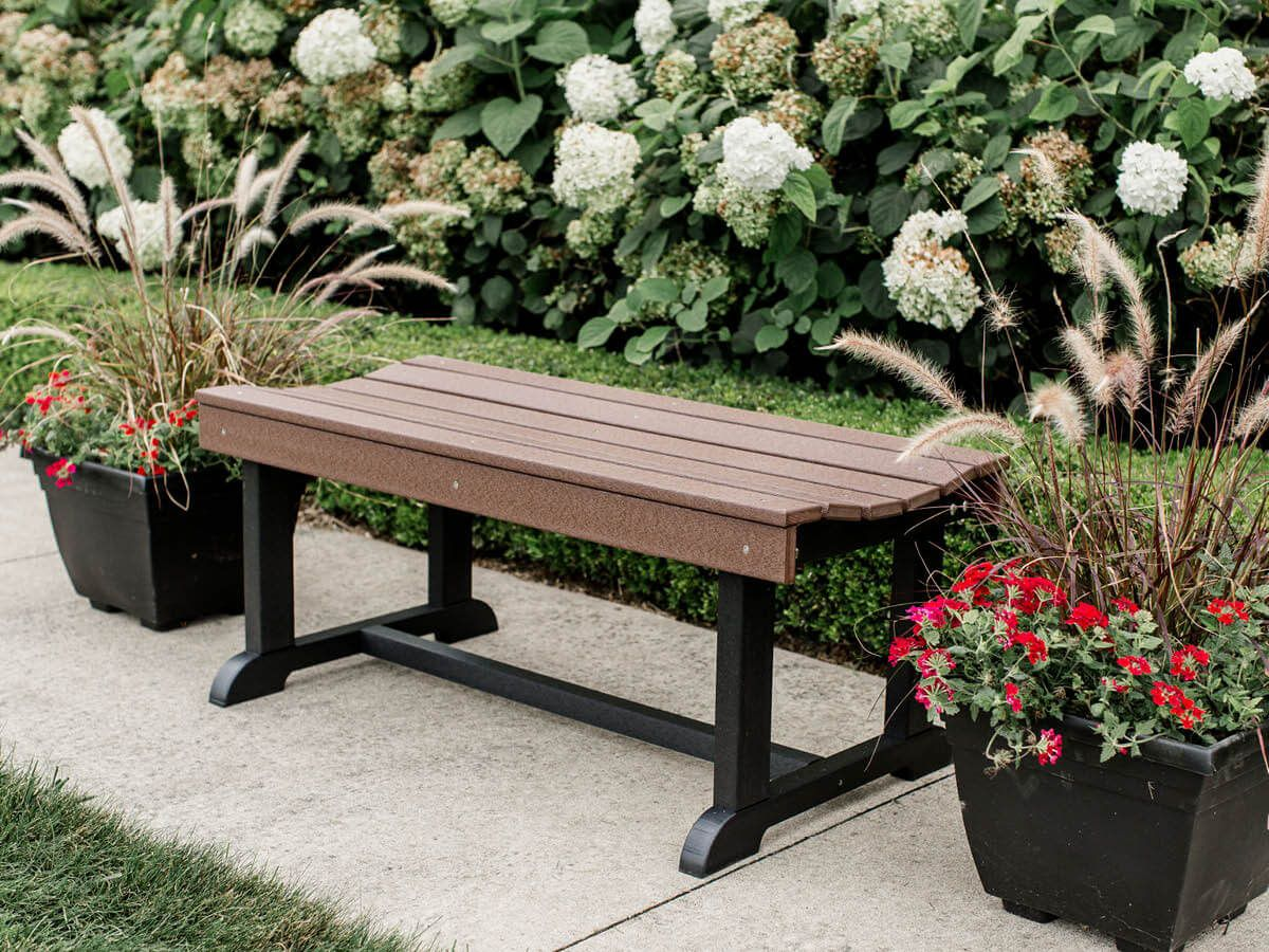 Poly Lumber Backless Bench