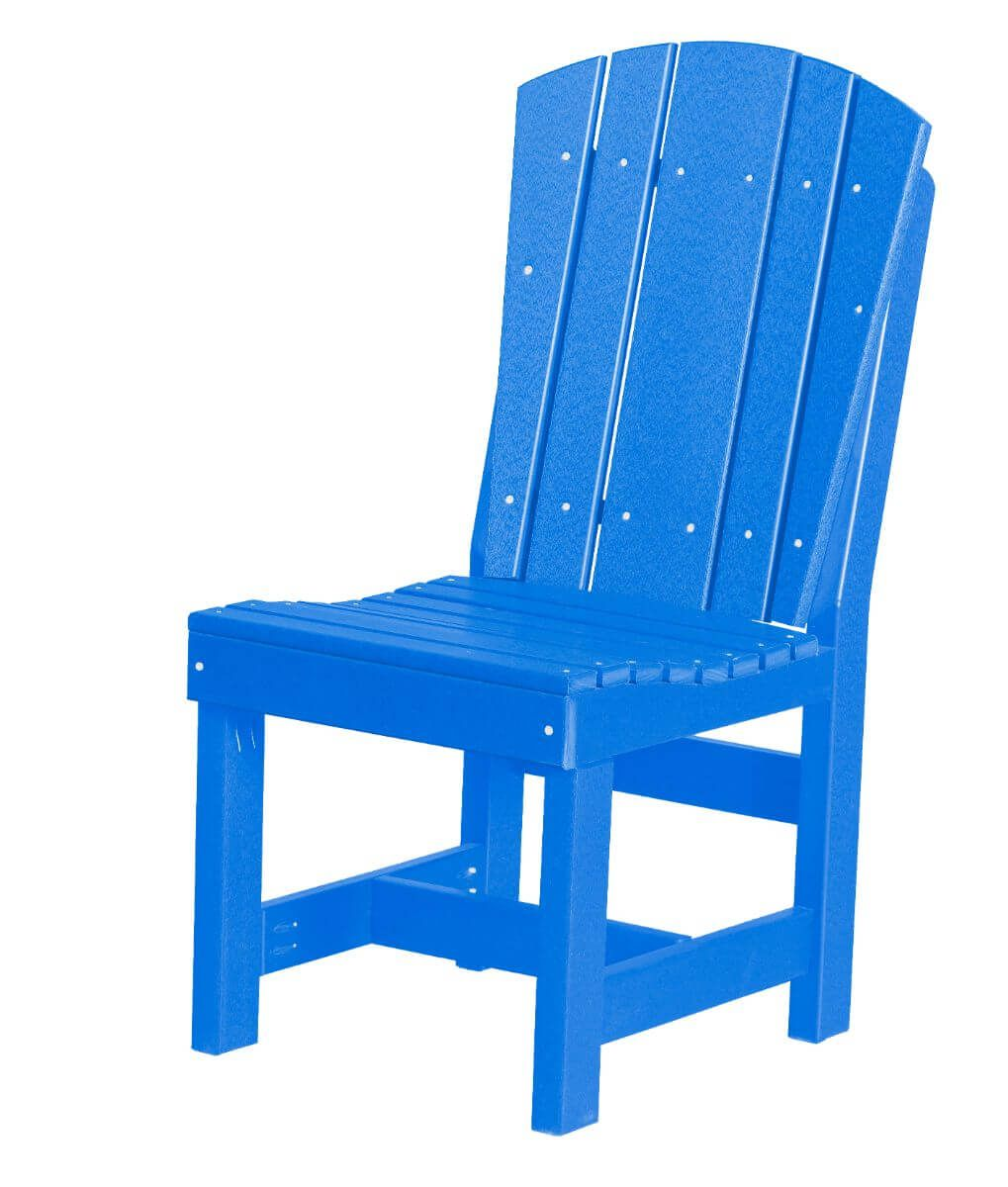 Blue Oristano Outdoor Dining Chair