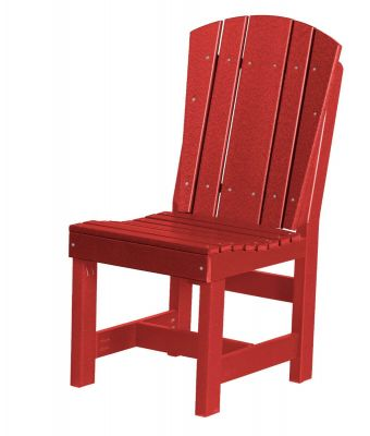 Cardinal Red Oristano Outdoor Dining Chair