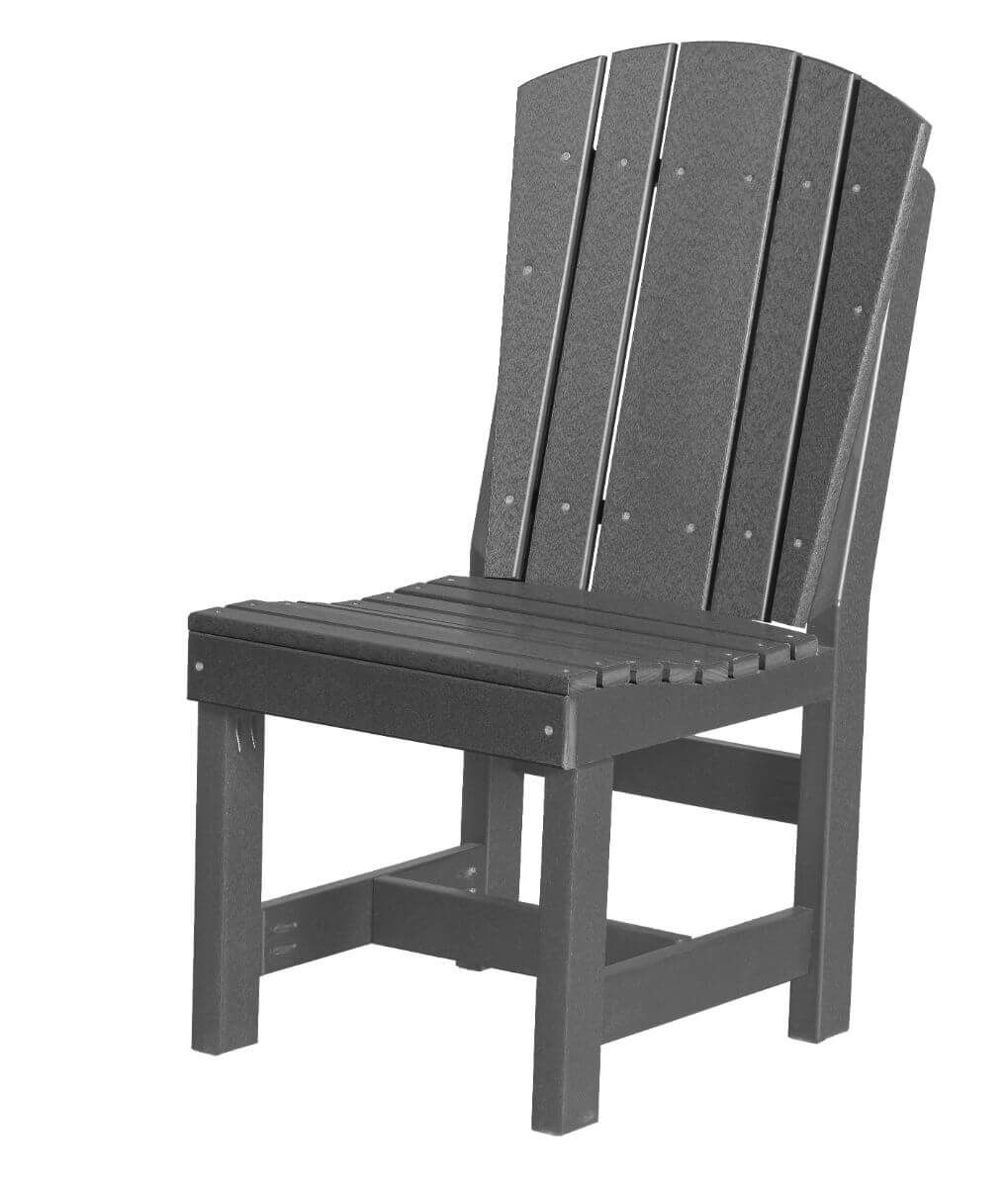 Dark Gray Oristano Outdoor Dining Chair