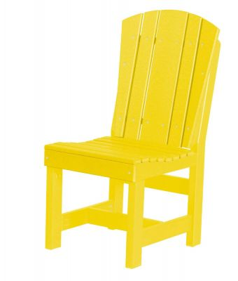 Lemon Yellow Oristano Outdoor Dining Chair