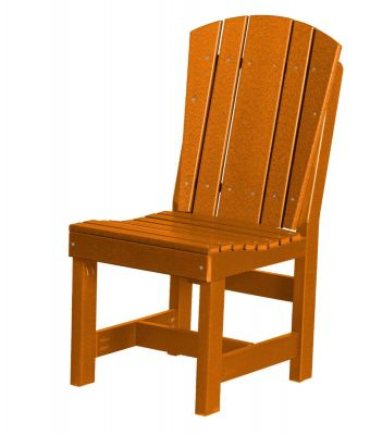 Orange Oristano Outdoor Dining Chair