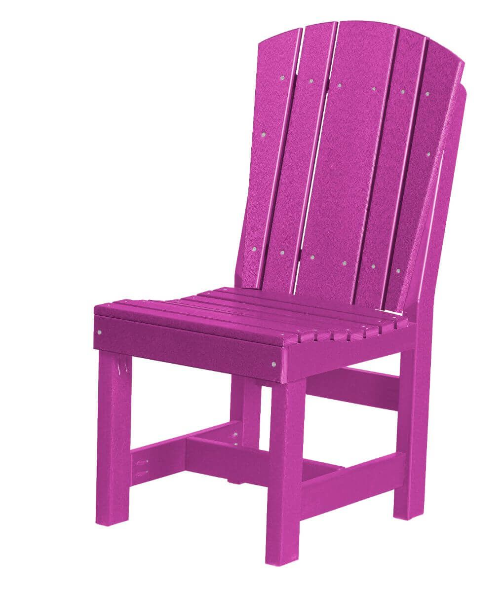 Purple Oristano Outdoor Dining Chair