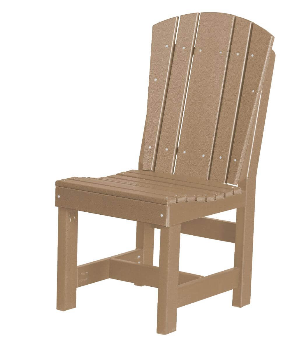 Weathered Wood Oristano Outdoor Dining Chair
