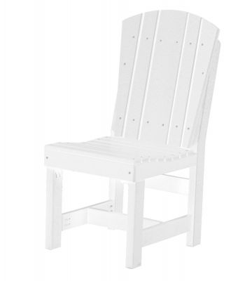 White Oristano Outdoor Dining Chair