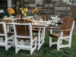Two Tone Patio Dining Set