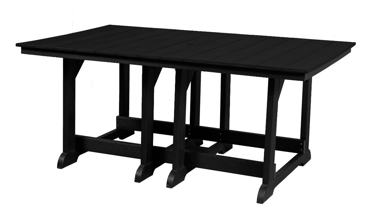 Black Oristano Outdoor Dining Table