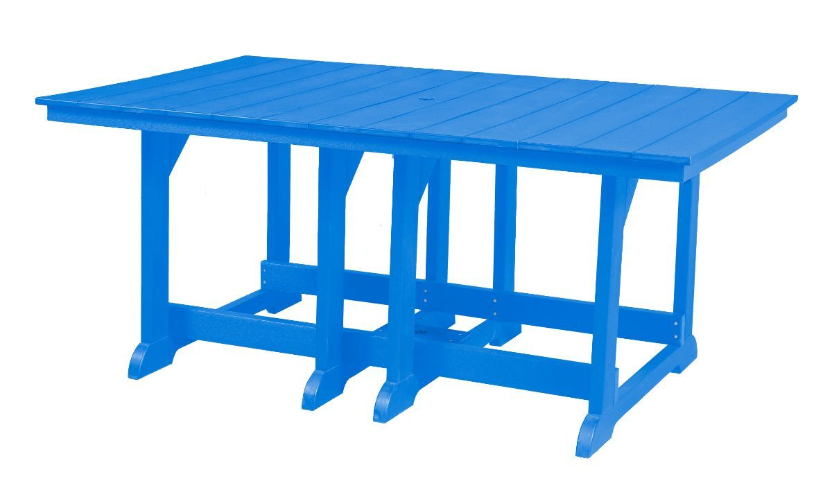 Blue Oristano Outdoor Dining Table