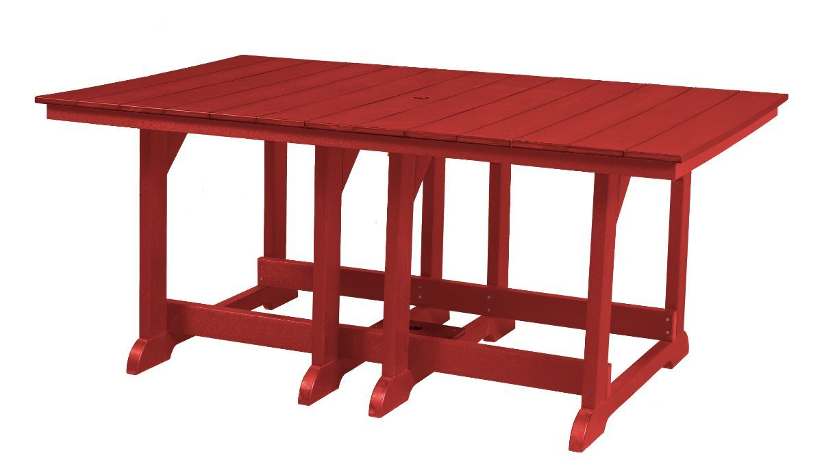 Cardinal Red Oristano Outdoor Dining Table