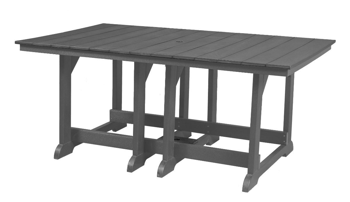 Dark Gray Oristano Outdoor Dining Table