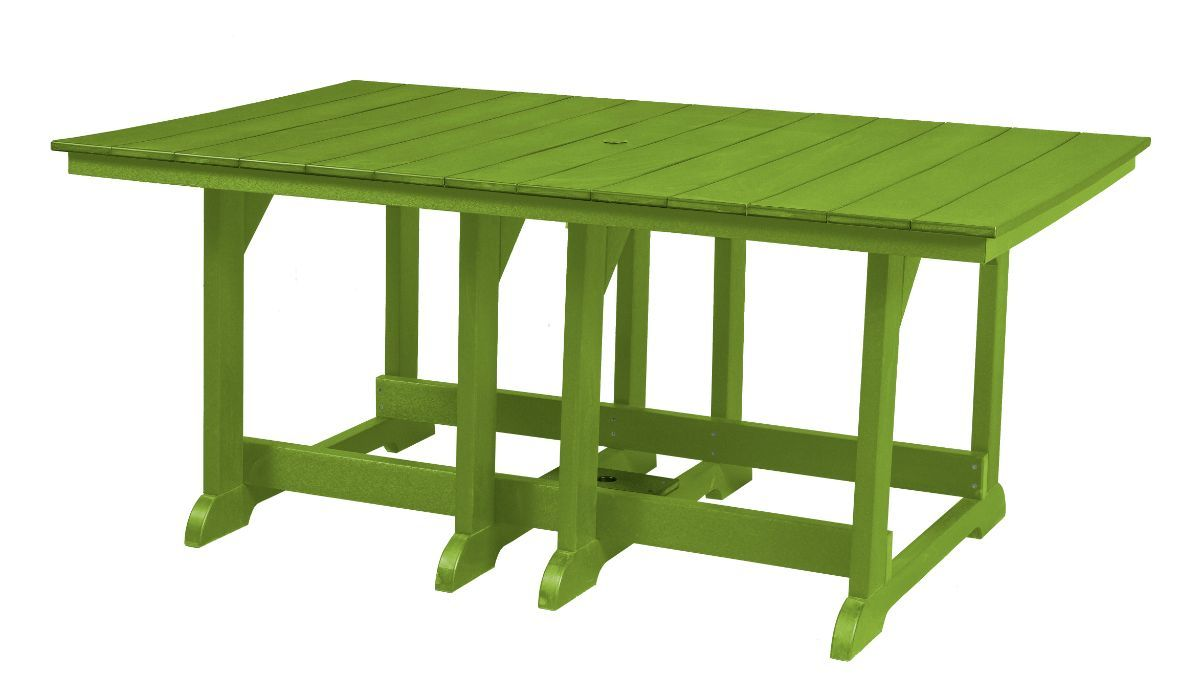Lime Green Oristano Outdoor Dining Table