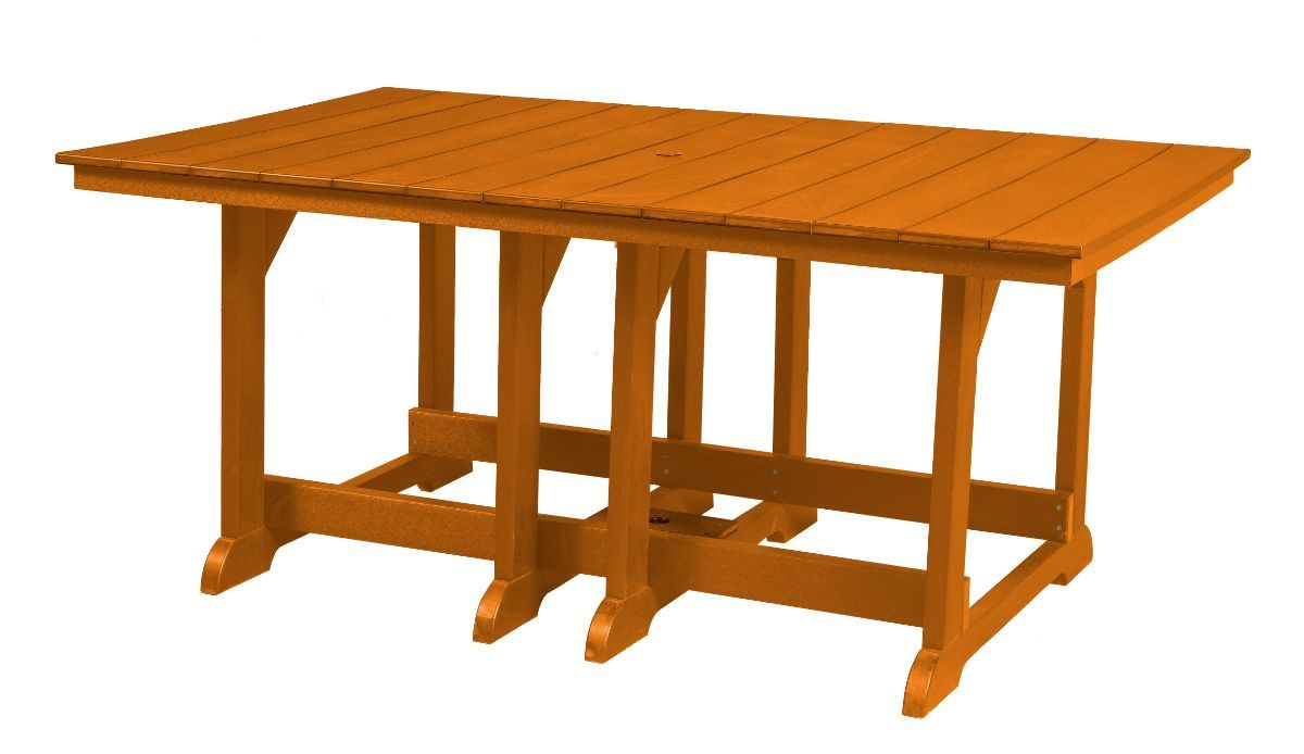Orange Oristano Outdoor Dining Table