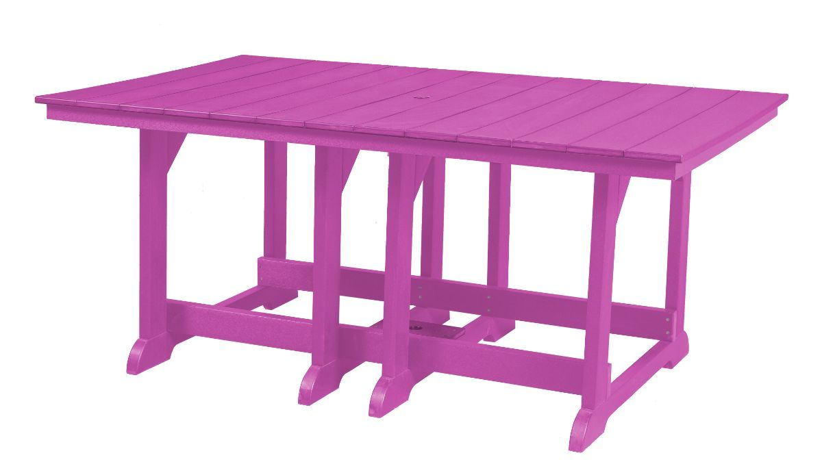 Purple Oristano Outdoor Dining Table