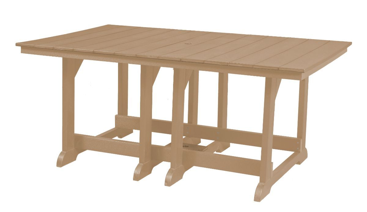 Weathered Wood Oristano Outdoor Dining Table