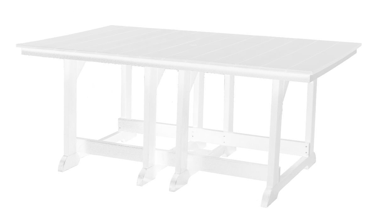 White Oristano Outdoor Dining Table