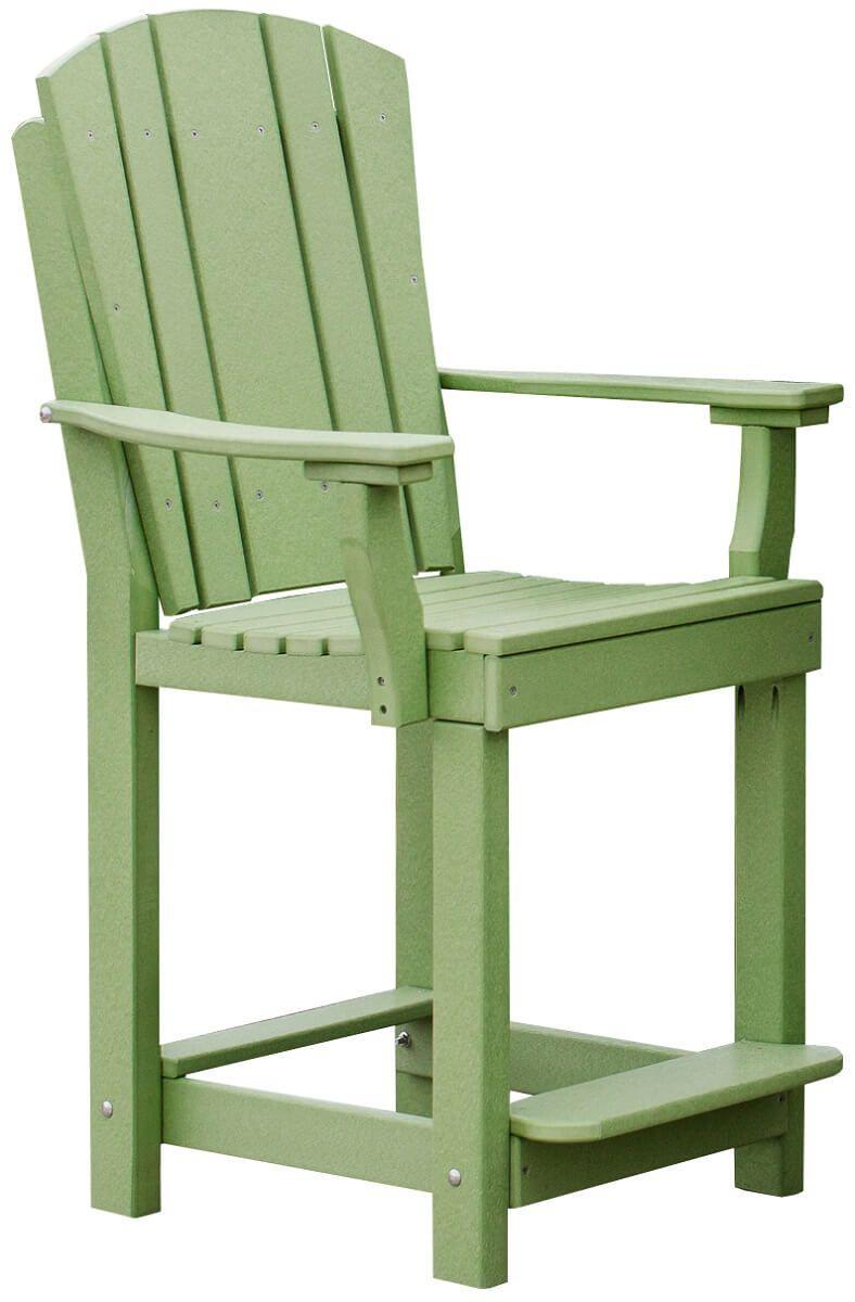 Lime Green Outdoor Bar Chair