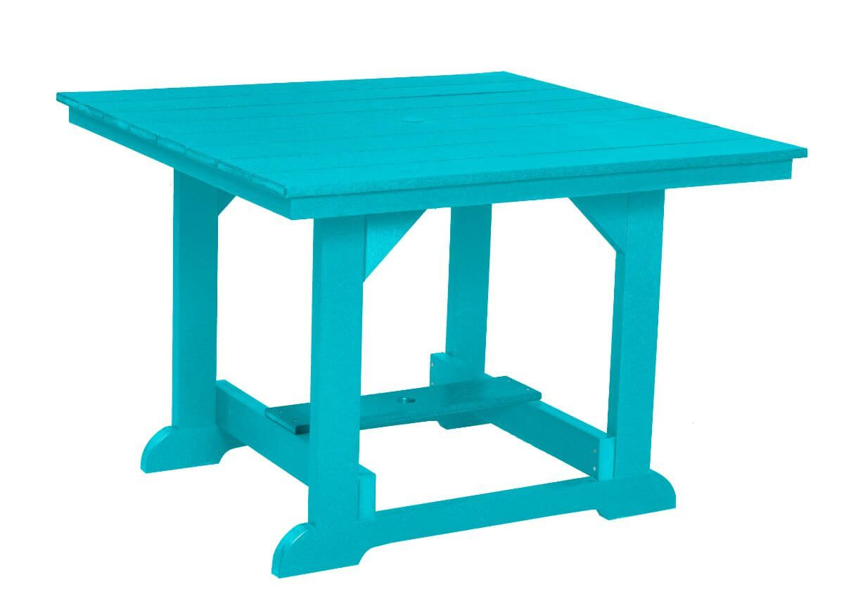 Aruba Blue Oristano Square Outdoor Dining Table