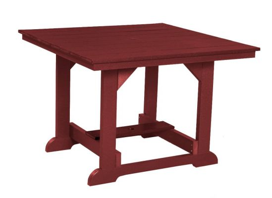 Cherry Wood Oristano Square Outdoor Dining Table