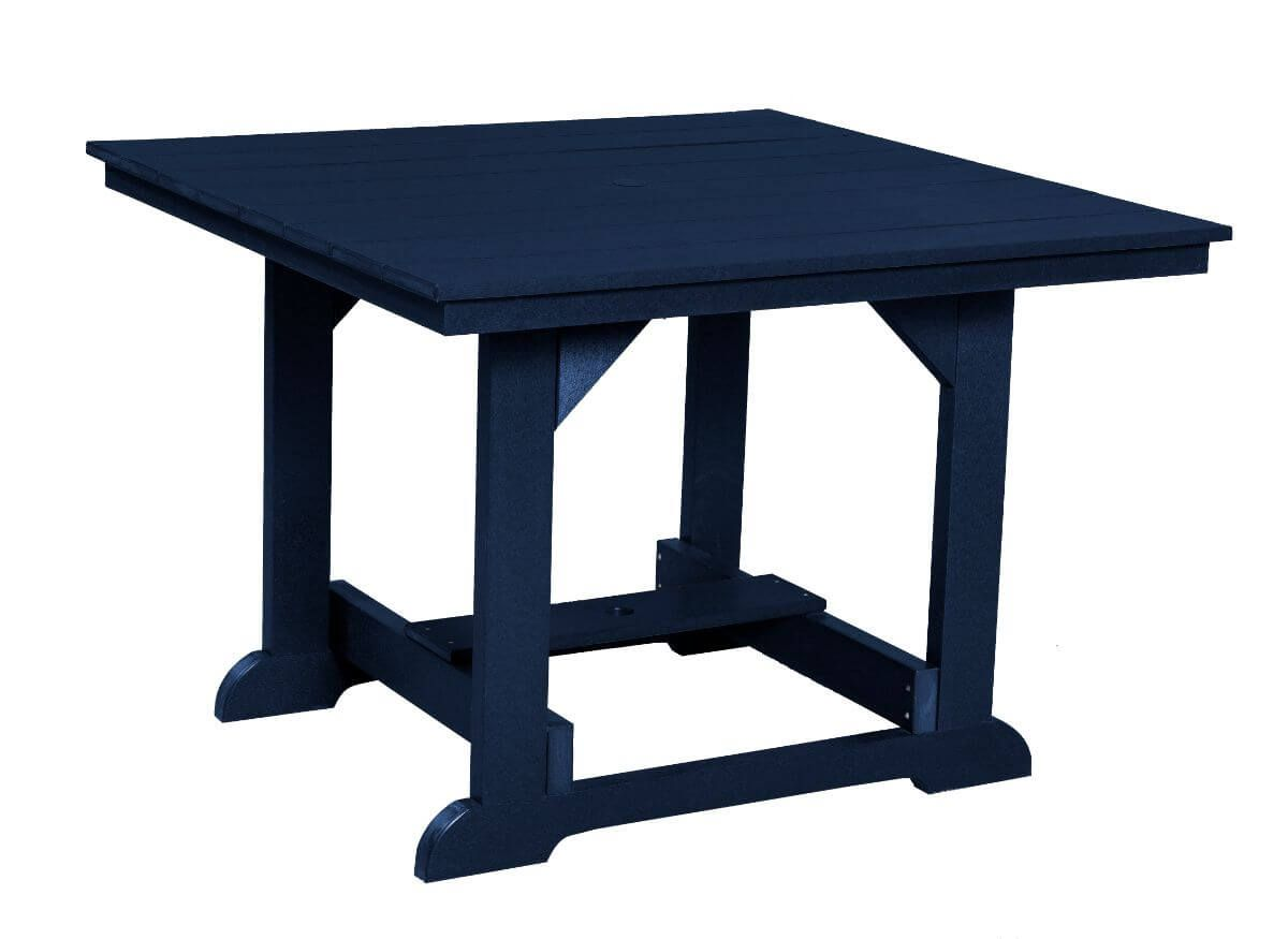 Patriot Blue Oristano Square Outdoor Dining Table