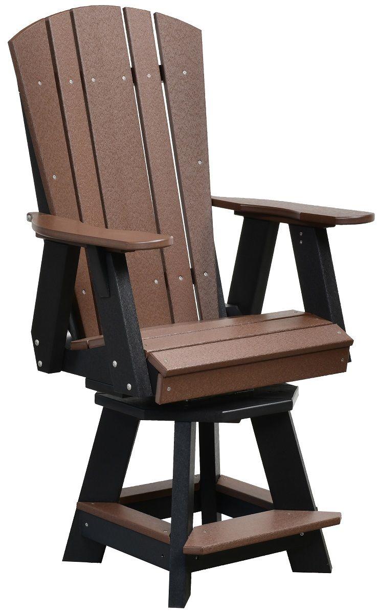 Oristano Swivel Bar Chair