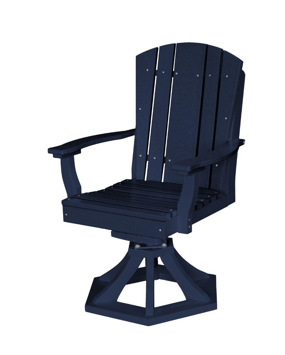 Patriot Blue Oristano Outdoor Swivel Dining Chair