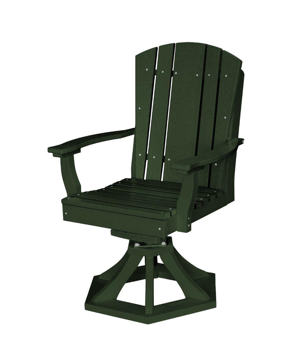 Turf Green Oristano Outdoor Swivel Dining Chair