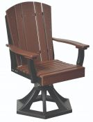 Oristano Outdoor Swivel Dining Chair